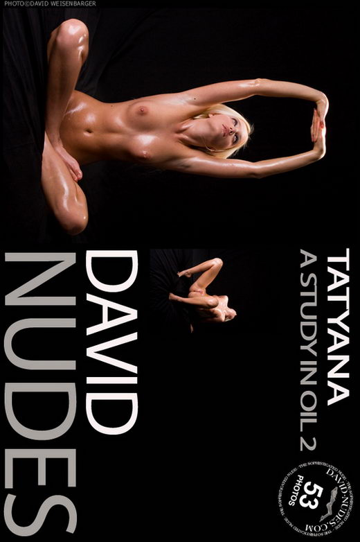 Tatyana - `A Study In Oil 2` - by David Weisenbarger for DAVID-NUDES