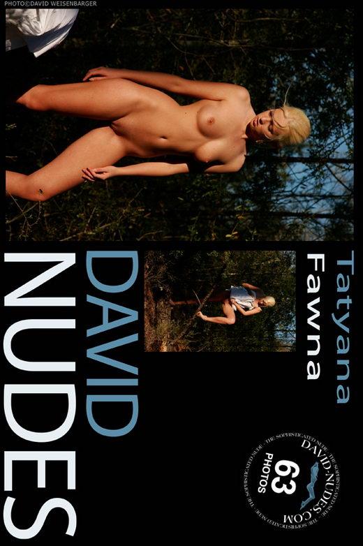 Tatyana - `Fawna` - by David Weisenbarger for DAVID-NUDES