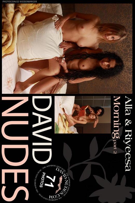 Alla & Riyeesa - `Morning part 2` - by David Weisenbarger for DAVID-NUDES