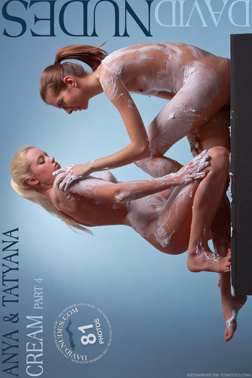 Anya & Tatyana - `Cream part 4` - by David Weisenbarger for DAVID-NUDES