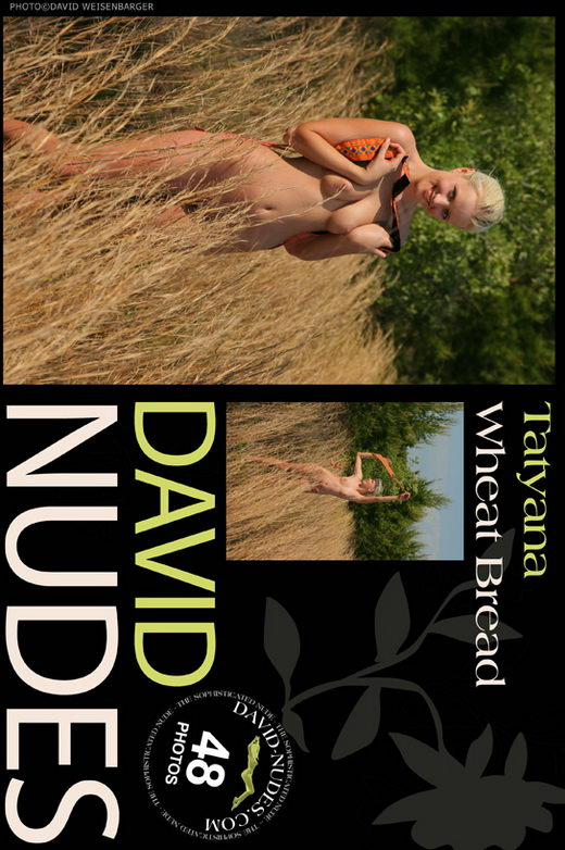 Tatyana - `Wheat Bread` - by David Weisenbarger for DAVID-NUDES