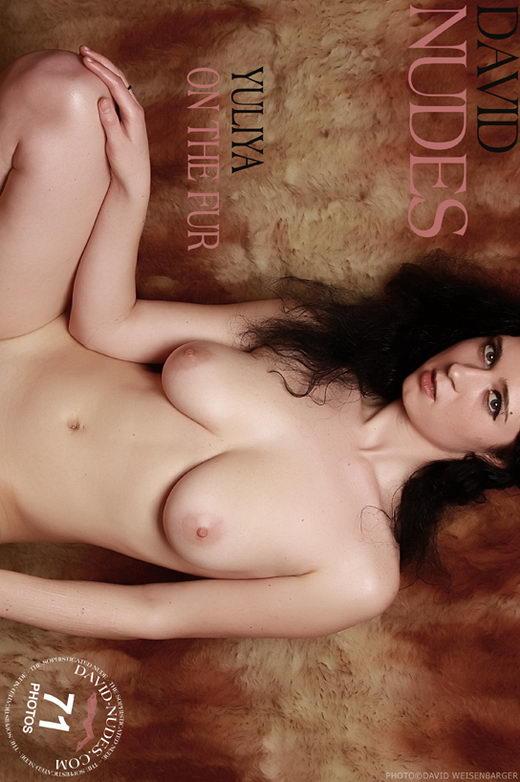 Yuliya - `On The Fur` - by David Weisenbarger for DAVID-NUDES