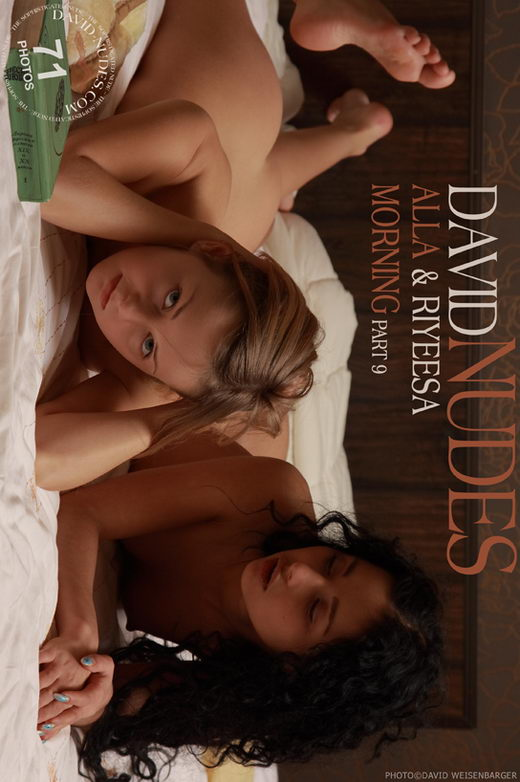 Alla & Riyeesa - `Morning part 9` - by David Weisenbarger for DAVID-NUDES