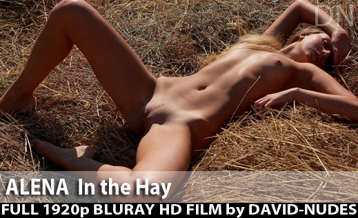 Alena - `In The Hay` - by David Weisenbarger for DAVID-NUDES