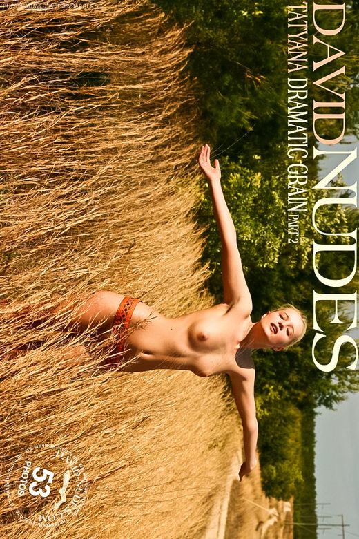 Tatyana - `Dramatic Grain part 2` - by David Weisenbarger for DAVID-NUDES