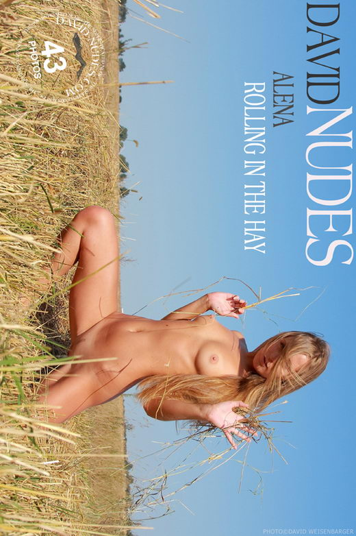 Alena - `Rolling In The Hay` - by David Weisenbarger for DAVID-NUDES