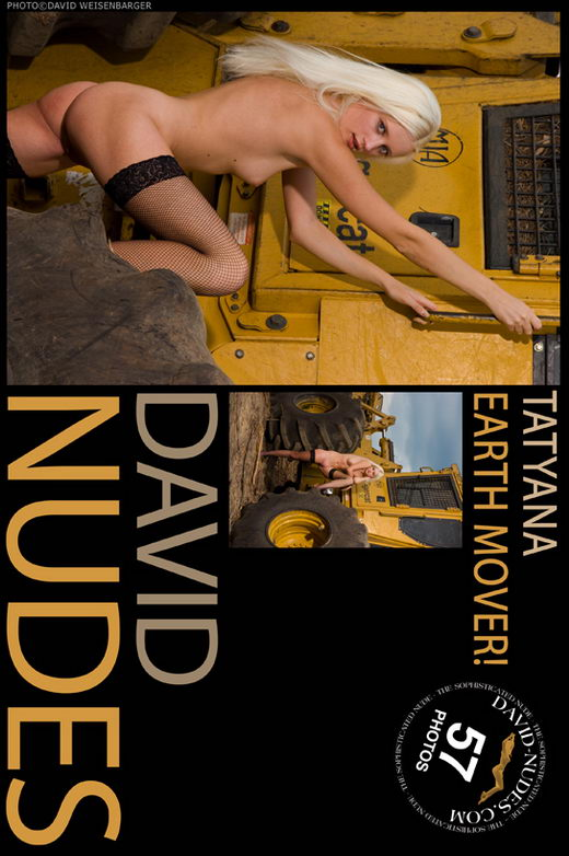 Tatyana - `Earth Mover!` - by David Weisenbarger for DAVID-NUDES