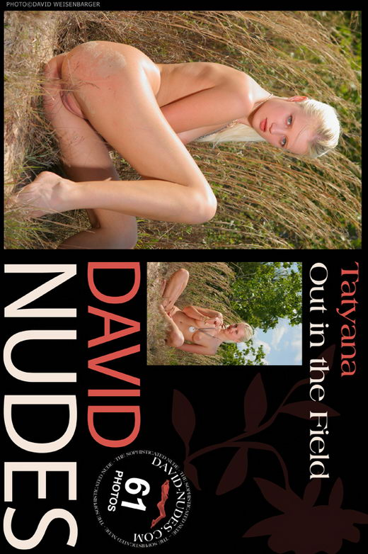 Tatyana - `Out In The Field` - by David Weisenbarger for DAVID-NUDES