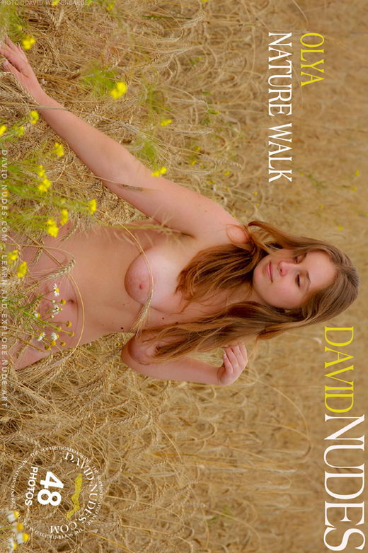 Olya - `Nature Walk` - by David Weisenbarger for DAVID-NUDES