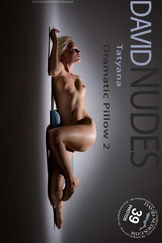 Tatyana - `Dramatic Pillow 2` - by David Weisenbarger for DAVID-NUDES