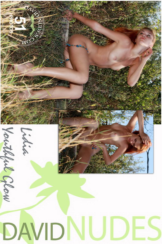 Lidia - `Youthful Glow` - by David Weisenbarger for DAVID-NUDES