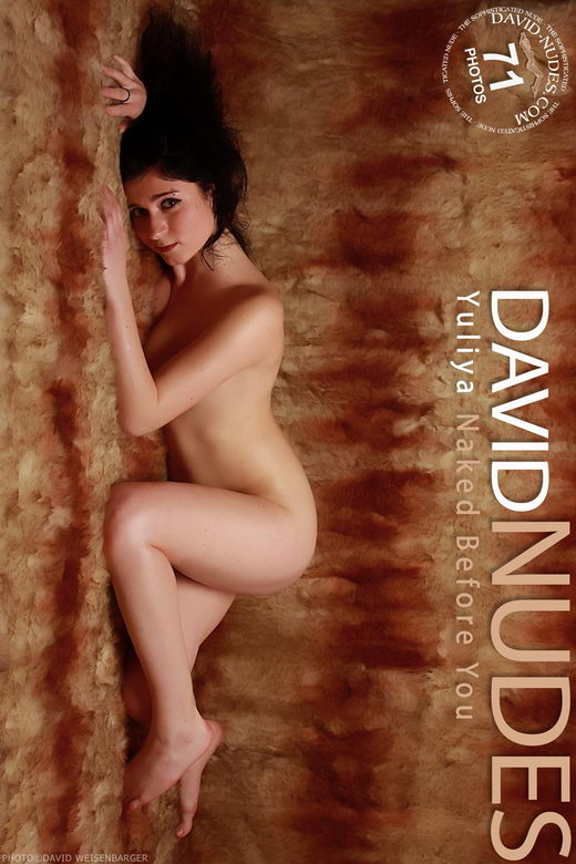 Yuliya - `Naked Before You` - by David Weisenbarger for DAVID-NUDES