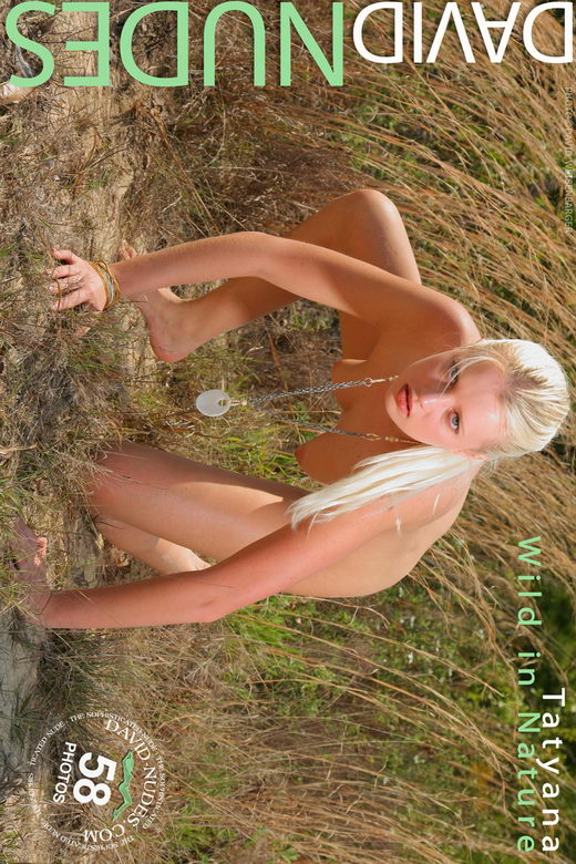 Tatyana - `Wild in Nature` - by David Weisenbarger for DAVID-NUDES