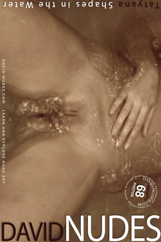 Tatyana - `Shapes in the Water` - by David Weisenbarger for DAVID-NUDES
