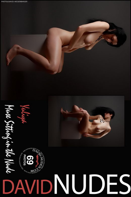 Yuliya - `Muse Sitting In The Nude` - by David Weisenbarger for DAVID-NUDES