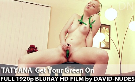 Tatyana - `Get Your Green On` - by David Weisenbarger for DAVID-NUDES
