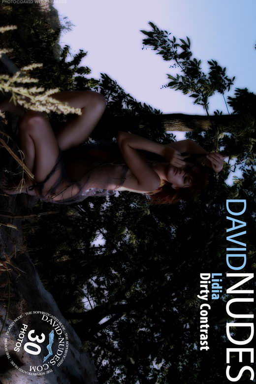 Lidia - `Dirty Contrast` - by David Weisenbarger for DAVID-NUDES