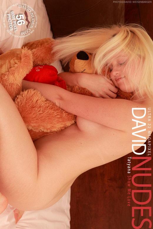 Tatyana - `Show Me Love` - by David Weisenbarger for DAVID-NUDES