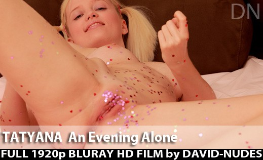 Tatyana - `An Evening Alone` - by David Weisenbarger for DAVID-NUDES