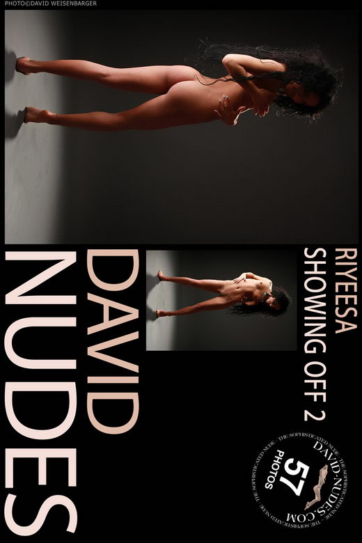 Riyeesa - `Showing Off 2` - by David Weisenbarger for DAVID-NUDES