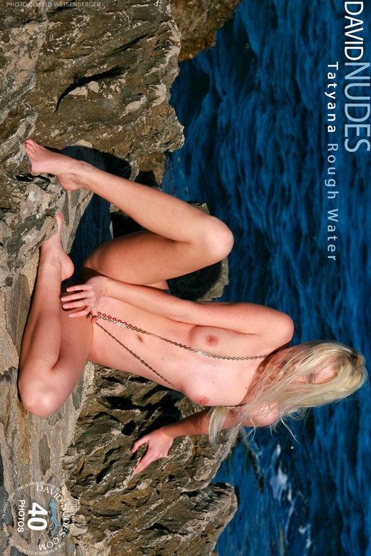 Tatyana - `Rough Water` - by David Weisenbarger for DAVID-NUDES