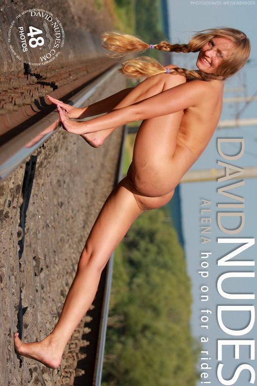 Alena - `Hop On For A Ride` - by David Weisenbarger for DAVID-NUDES