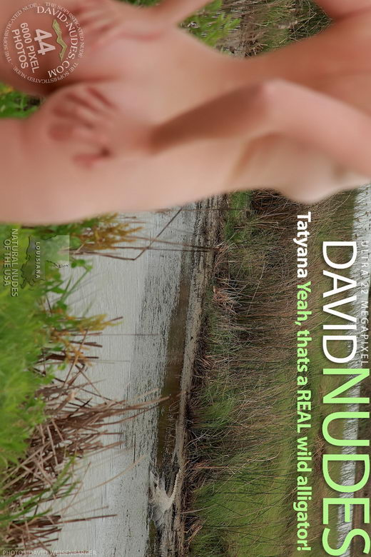 Tatyana - `Yeah, That's a Real Wild Alligator!` - by David Weisenbarger for DAVID-NUDES