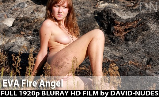 Eva - `Fire Angel` - by David Weisenbarger for DAVID-NUDES