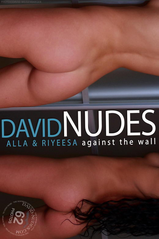 Alla & Riyeesa - `Against The Wall` - by David Weisenbarger for DAVID-NUDES