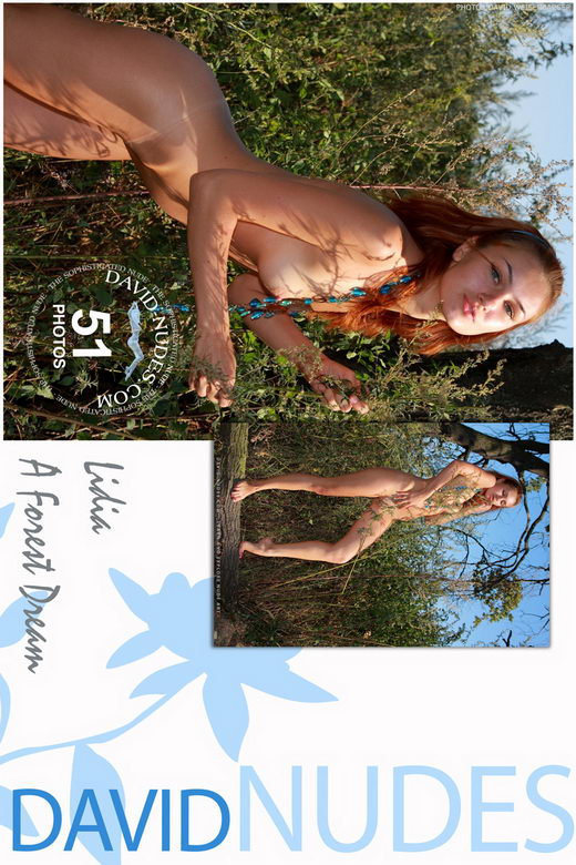 Lidia - `A Forest Dream` - by David Weisenbarger for DAVID-NUDES