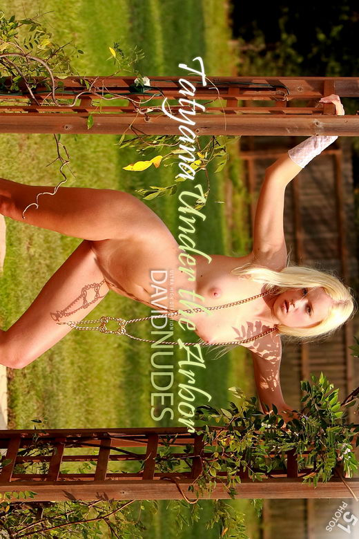 Tatyana - `Under the Arbor` - by David Weisenbarger for DAVID-NUDES