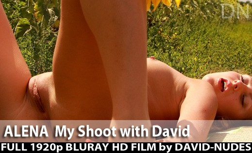 Alena - `My Shoot With David` - by David Weisenbarger for DAVID-NUDES