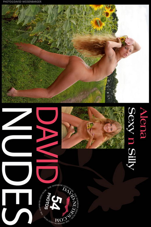 Alena - `Sexy n Silly` - by David Weisenbarger for DAVID-NUDES