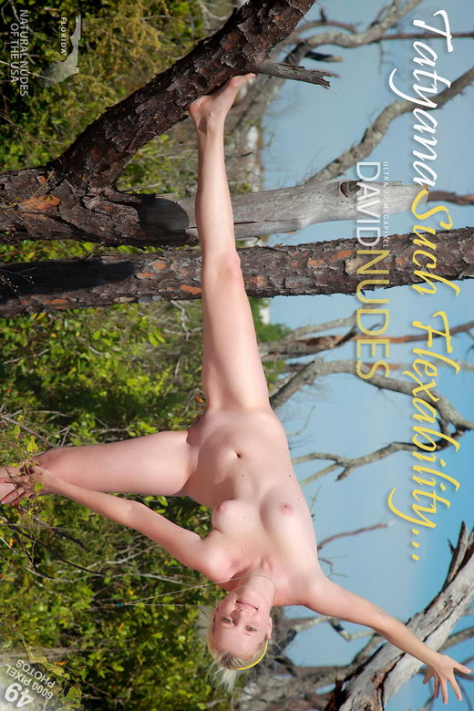 Tatyana - `Such Flexibility...` - by David Weisenbarger for DAVID-NUDES