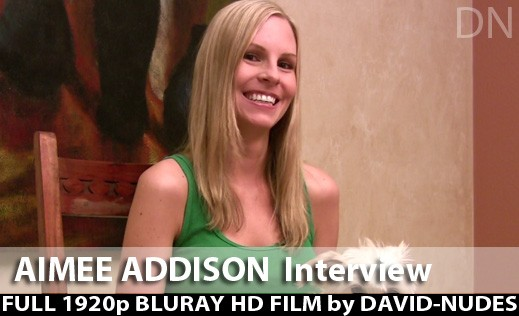 Aimee Addison - `My Interview` - by David Weisenbarger for DAVID-NUDES
