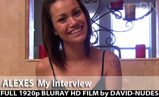 Alexes - `My Interview` - by David Weisenbarger for DAVID-NUDES