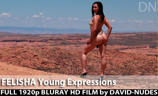 Felisha - `Young Expressions` - by David Weisenbarger for DAVID-NUDES