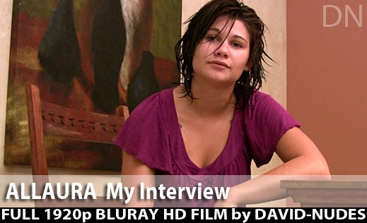 Allaura - `My Interview` - by David Weisenbarger for DAVID-NUDES