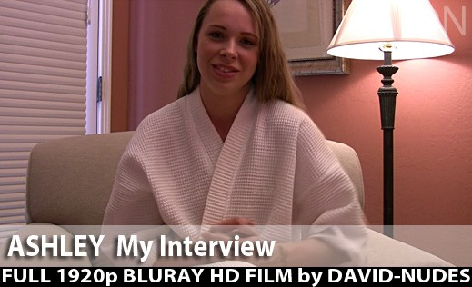 Ashley - `My Interview` - by David Weisenbarger for DAVID-NUDES