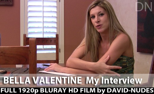 Bella Valentine - `My Interview` - by David Weisenbarger for DAVID-NUDES