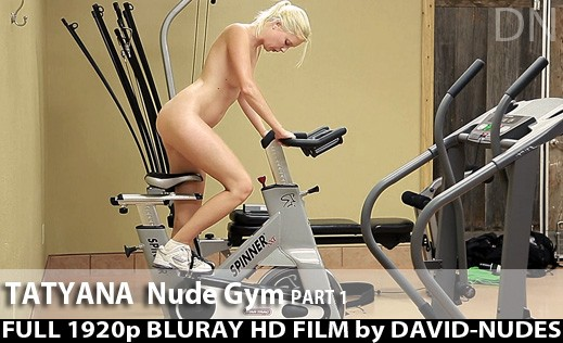Tatyana - `Nude Gym - Part 1` - by David Weisenbarger for DAVID-NUDES