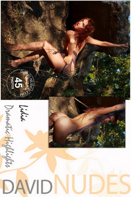 Lidia - `Dramatic Highlights` - by David Weisenbarger for DAVID-NUDES