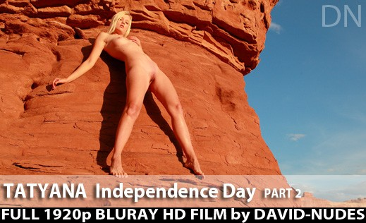 Tatyana - `Independence Day - Part 2` - by David Weisenbarger for DAVID-NUDES