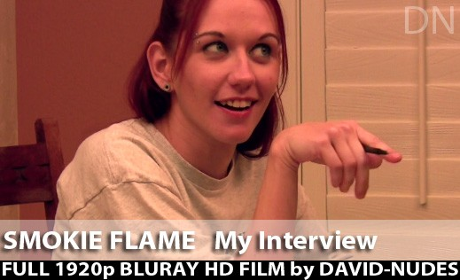 Smokie Flame - `My Interview` - by David Weisenbarger for DAVID-NUDES