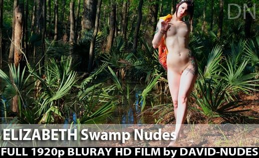 Elizabeth - `Swamp Nudes` - by David Weisenbarger for DAVID-NUDES
