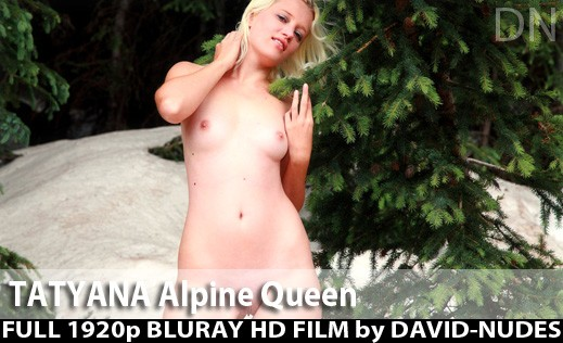 Tatyana - `Alpine Queen` - by David Weisenbarger for DAVID-NUDES