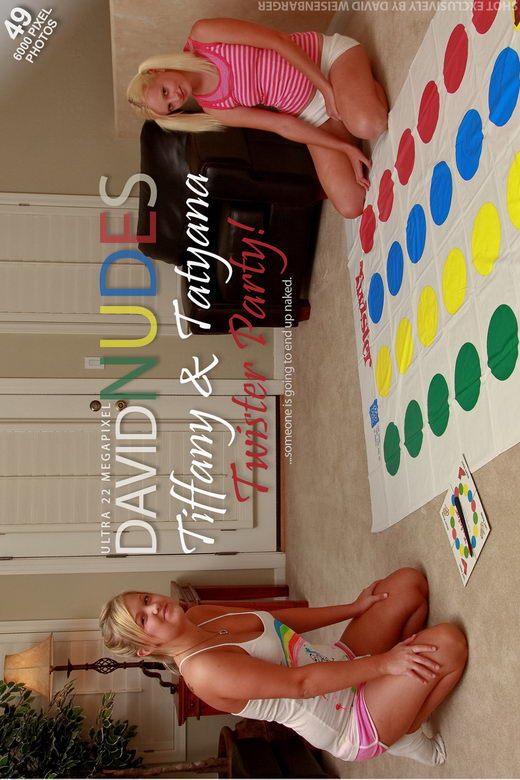 Tiffany & Tatyana - `Twister Party!` - by David Weisenbarger for DAVID-NUDES