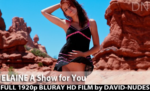 Elaine - `A Show For You` - by David Weisenbarger for DAVID-NUDES