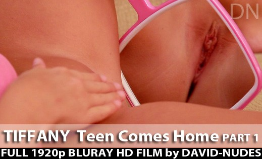 Tiffany - `Teen Come Home - Part 1` - by David Weisenbarger for DAVID-NUDES