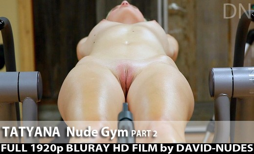 Tatyana - `Nude Gym - Part 2` - by David Weisenbarger for DAVID-NUDES